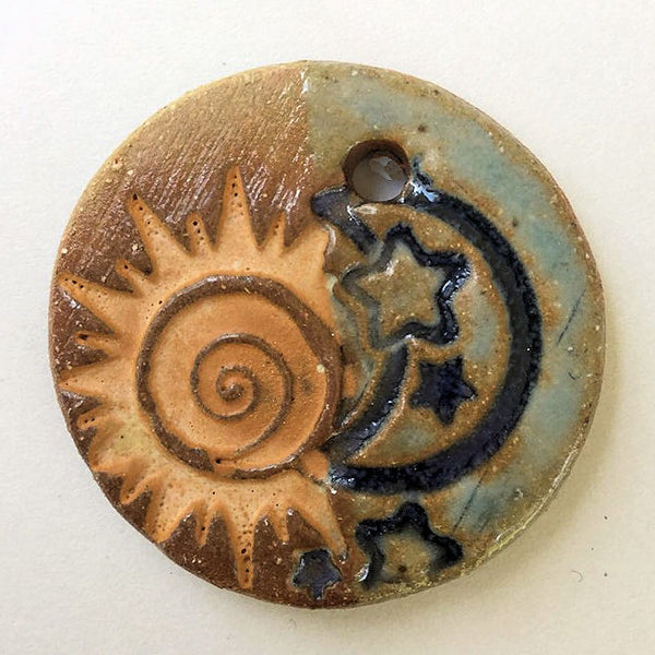 Sun & Blue Moon Focal Bead Circle