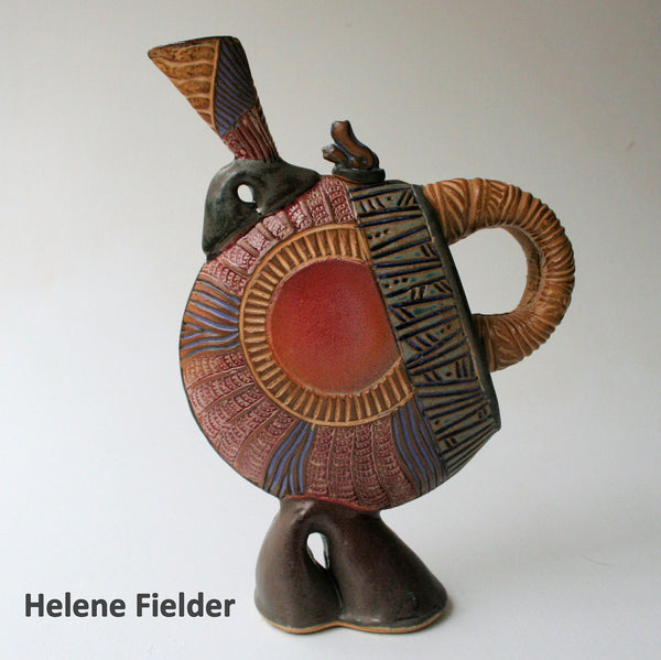 Tea Pot Helene Fielder stoneware ceramics pottery
