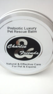 Prebiotic Luxury Pet Grooming Rescue Balm      100ml Charlie And Friends Products