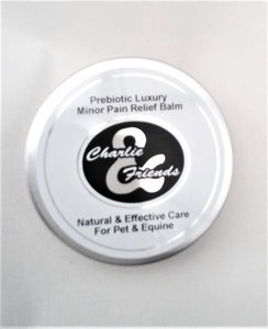 Prebiotic Luxury Pet Minor Pain Relief Balm      100ml     Charlie And Friends Products