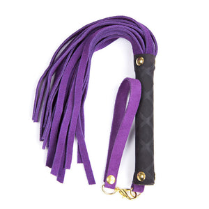 Genuine Leather Whip (4 colours)