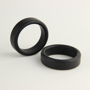 "Black Trio 1.5"" Cock Rings"