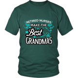 RETIRED NURSE GRANDMA - ShirtSpice