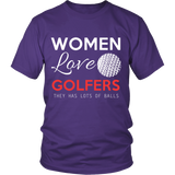 WOMEN LOVE GOLFERS - ShirtSpice