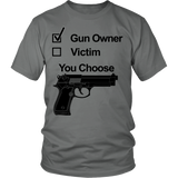 MY GUN YOUR CHOICE - ShirtSpice