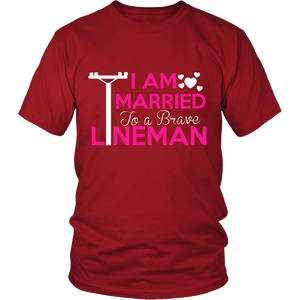 MARRIED TO A LINEMAN