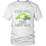 THIS GIRL LOVES HER ARMY MAN - ShirtSpice