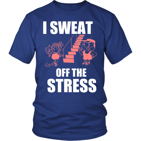 SWEAT OFF THE STRESS