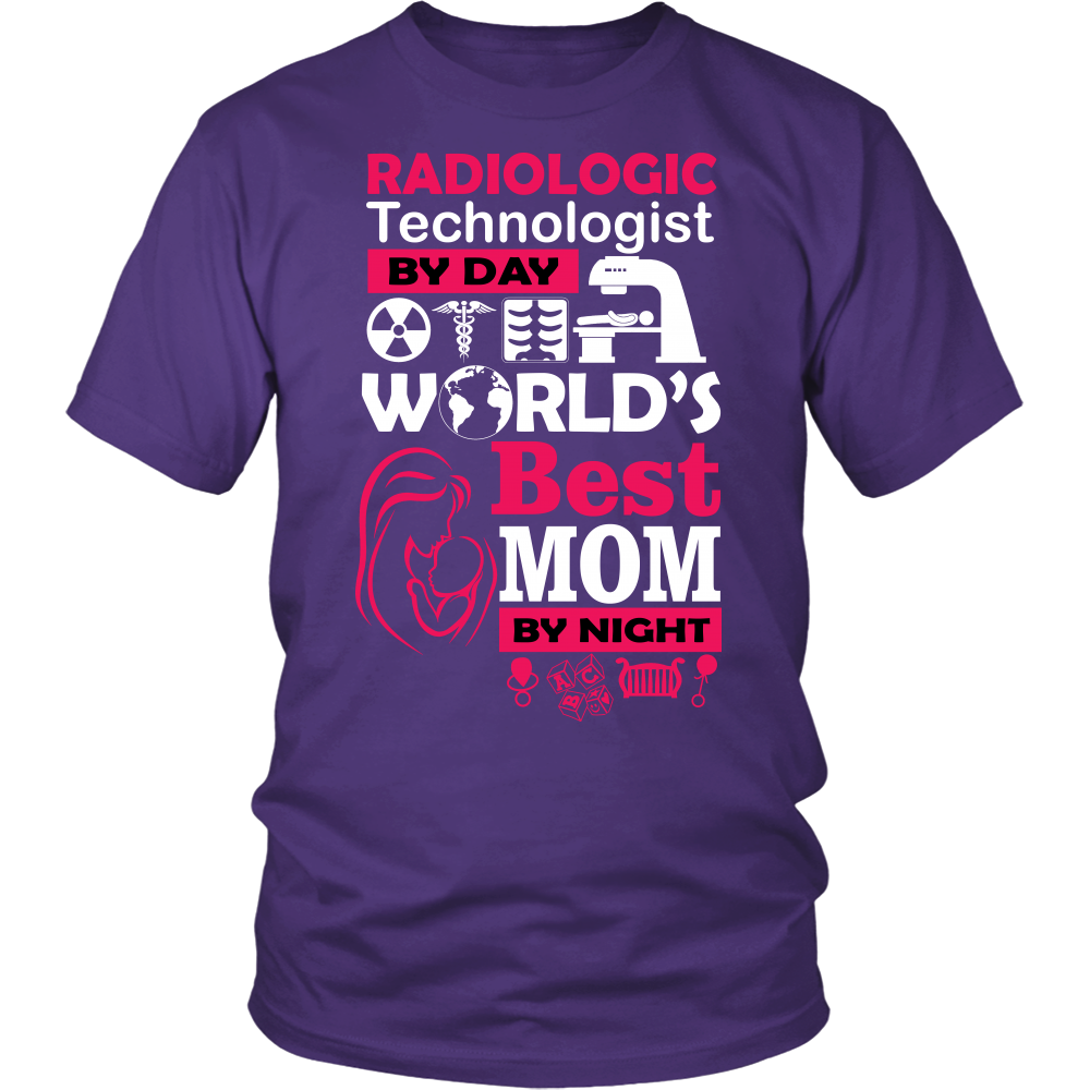 WORLD'S BEST MOM AT NIGHT - ShirtSpice