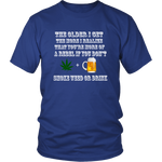 WEED AND ALCOHOL - ShirtSpice