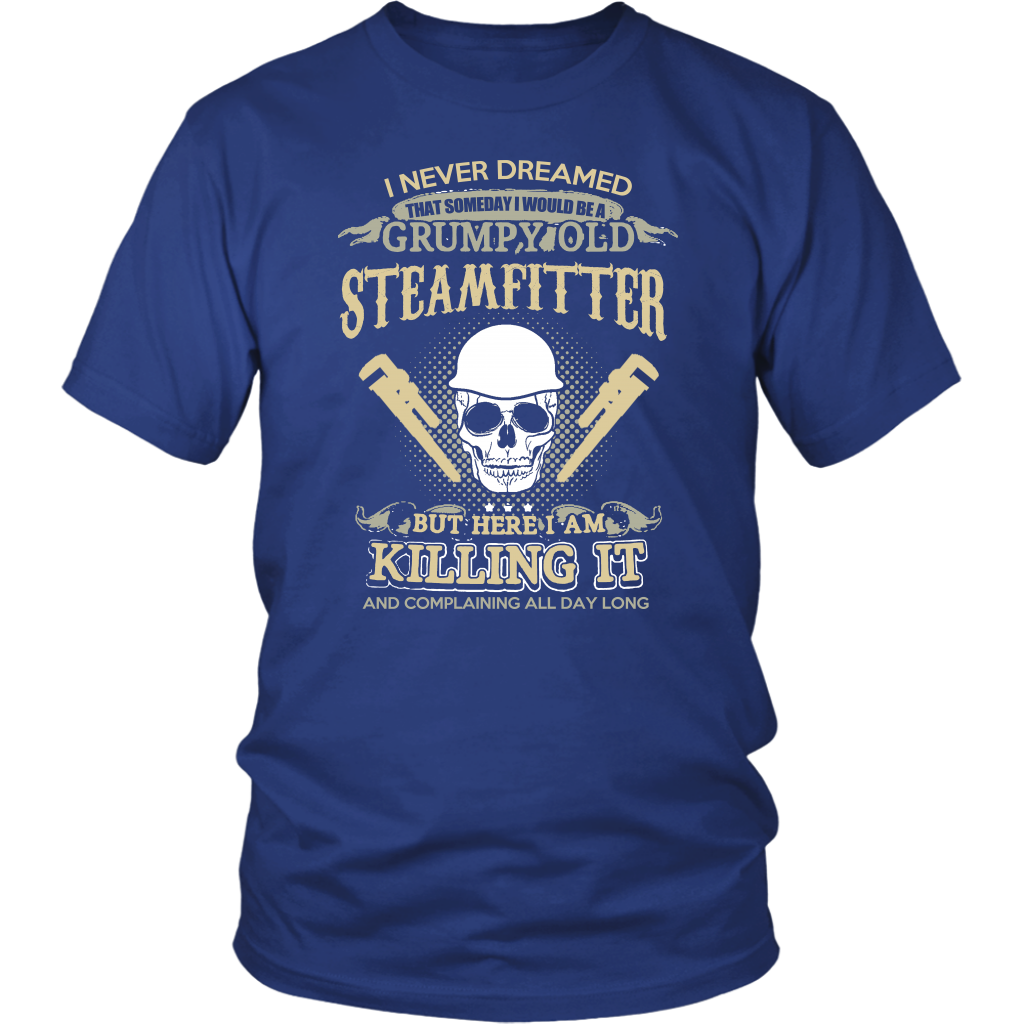 GRUMPY OLD STEAMFITTER