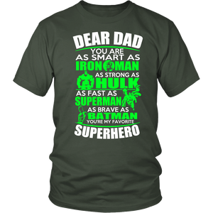 DEAR DAD FASTER THAN SUPERMAN