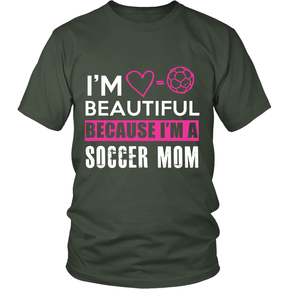 I AM A SOCCER MOM