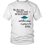STEALING SPACESHIP SHIRT - ShirtSpice