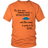 STEALING SPACESHIP SHIRT