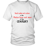MAKE LOVE NOT WAR SHIRT