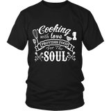 COOKING WITH LOVE SHIRT - ShirtSpice