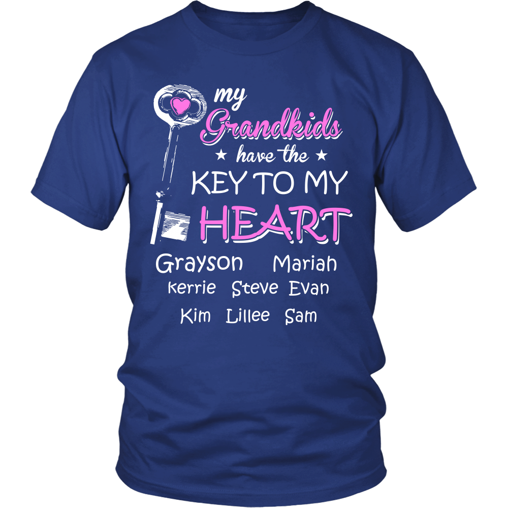 GRANDMA KEY TO OUR HEART