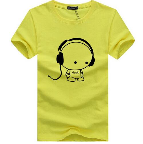 Cartoon Printed Casual T Shirt
