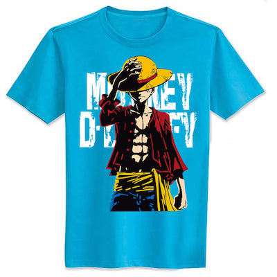 One Piece Luffy Casual T-shirt