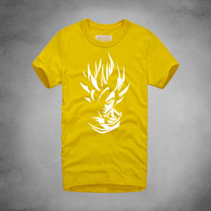 Casual Dragon Ball Z Super Saiyan Son Goku Air Tee TShirt Men