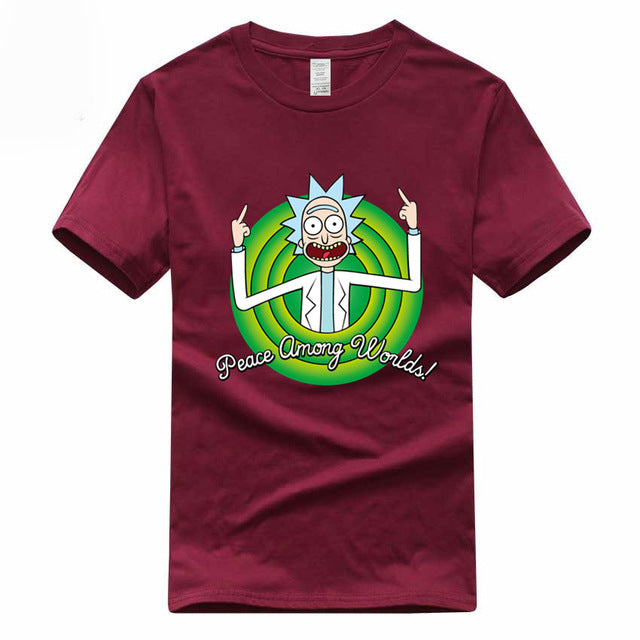 Rick and Morty Printing Streetwear T shirt