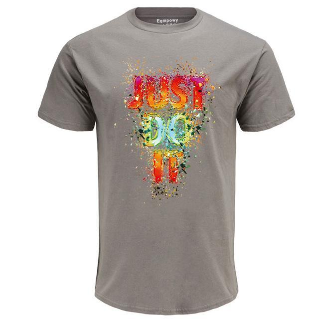 Casual Fireworks Just Do It Men'sT-shirt
