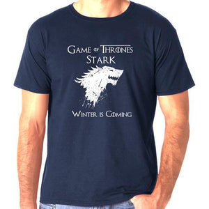 Short Sleeve Game of Thrones Print Men's T shirt - ShirtSpice