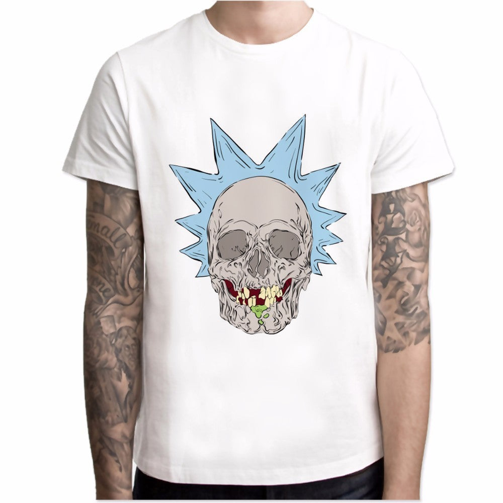 Rick and Morty Casual Anime T-Shirt