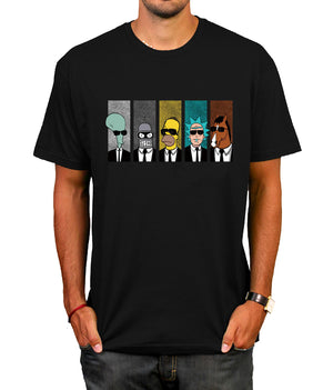 Rick and  Morty BoJack Horseman Cool TV  Men Tees