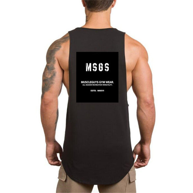 NO PAIN NO GAIN clothing bodybuilding stringer gyms