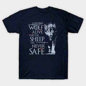 Stark cotton short sleeve Game of Thrones Men T-shirt - ShirtSpice