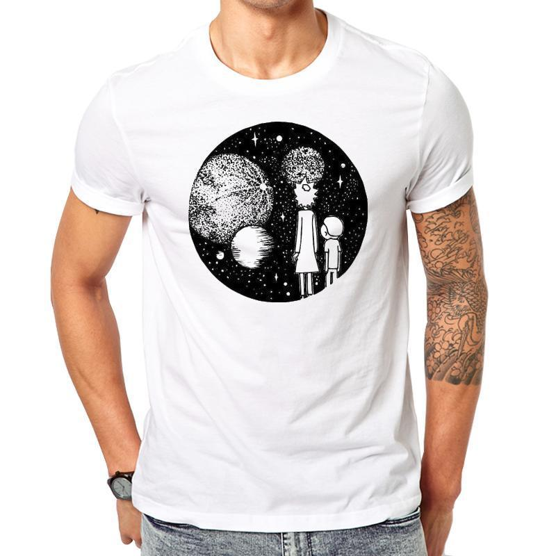 Universe Rick and Morty Men's T-shirt - ShirtSpice