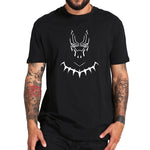 Black Superhero Fashion Movie Print TShirt