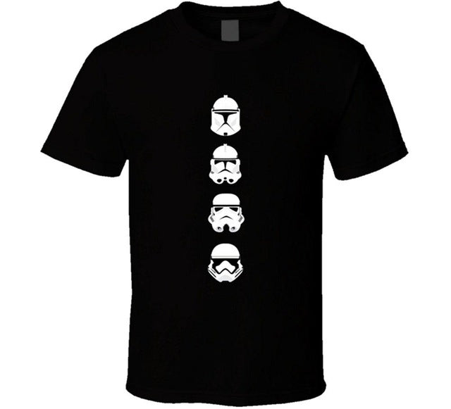 Star Wars startroopers Summer Casual Clothing - ShirtSpice