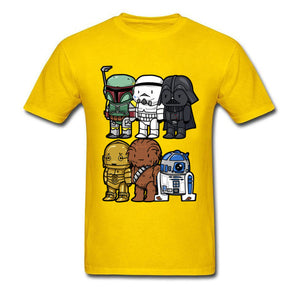Star Wars Cartoons Funny T Shirt - ShirtSpice
