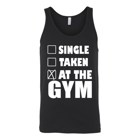 Single But Taken Tank - ShirtSpice