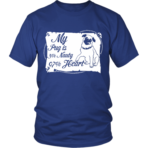 Nauty and Hearty Pug - ShirtSpice