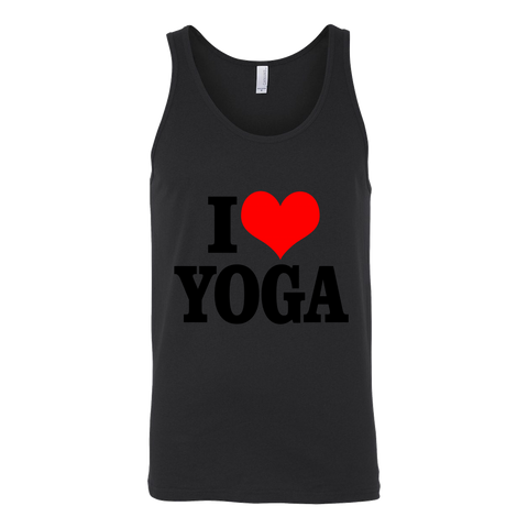 I Love Yoga Tank - ShirtSpice