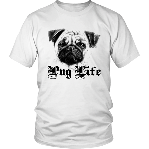 Lifestyle of Pug - ShirtSpice