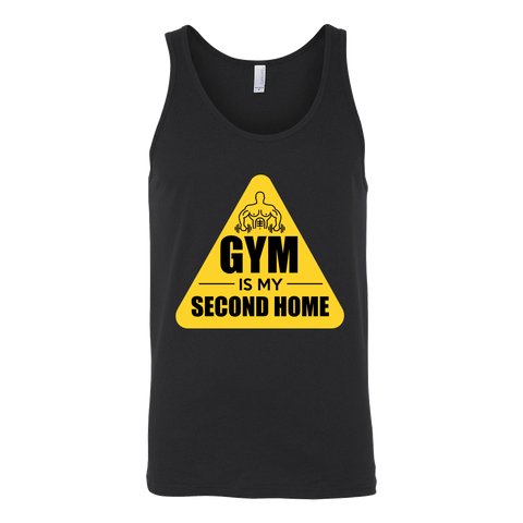 Gym is My Second Home Tank - ShirtSpice