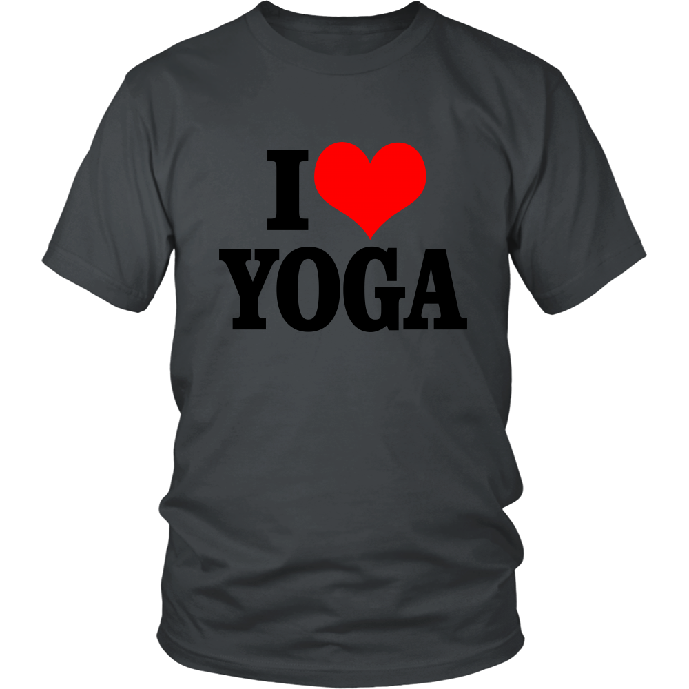 I Love Yoga - ShirtSpice