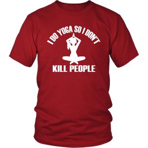 Yoga Not to Kill People