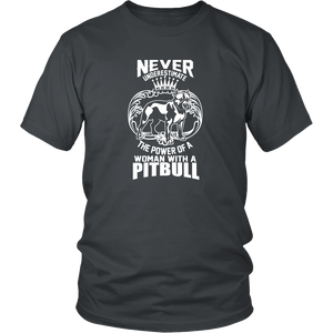 The Power of a Woman with a Pit-Bull - ShirtSpice