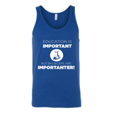 Education is Important Tank - ShirtSpice