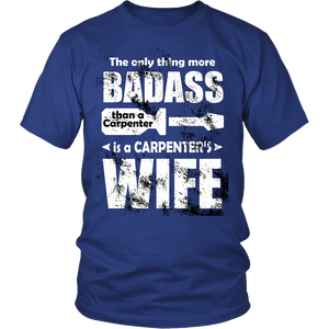 BADASS CARPENTER WIFE