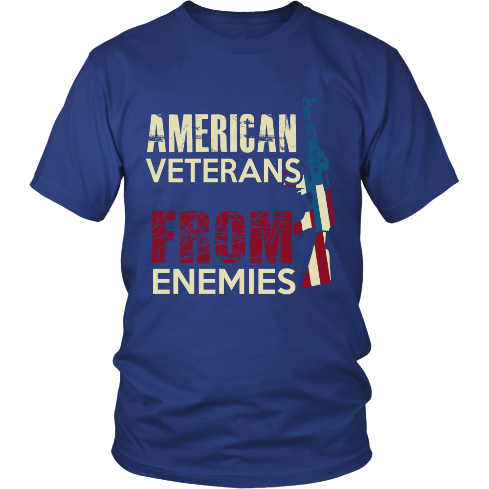VETERANS FROM ENEMIES - ShirtSpice