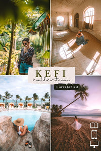 Kefi Collection Creator Kit (Desktop + Mobile Presets)