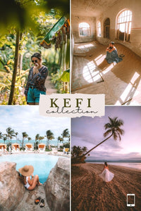 Kefi Collection (Mobile Presets)