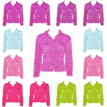 12 Pack<br>Gourmet Popcorn Tops<br>Cardigans with Collar<br>Solids